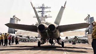 USS Nimitz • Flight Operations Aboard An Aircraft Supercarrier