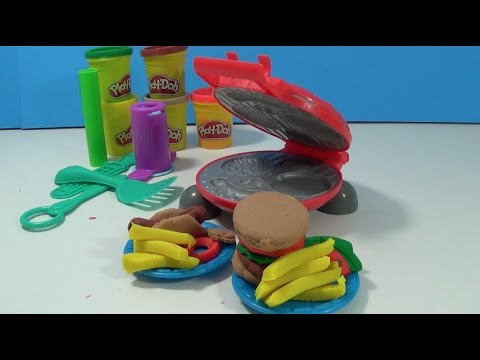 unboxing-colorful-hamburger-creator-playdoh-set-grill-up-the-fun!