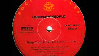 Ordinary People Keep Your Love (Def Club Mix)