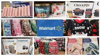 WALMART  SHOP WITH ME | CLEARANCE CANDLES AND CHRISTMAS