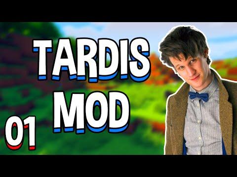 Minecraft TARDIS Mod! Part 1 - How to Fly the TARDIS! (Minecraft v1.7.10 Mod Spotlight)