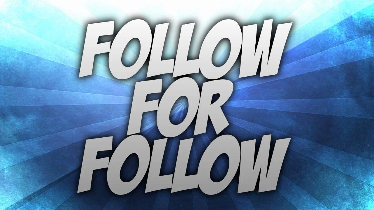 Follow for Follow Center! - Instagram - YouTube
