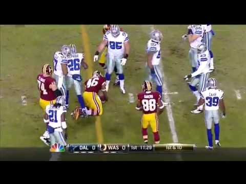2012 - Cowboys @ Redskins Week 17 SNF