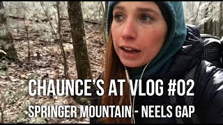 Chaunce's AT Vlog #02: Springer Mountain - Neels Gap