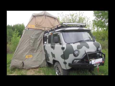 Тюнинг УАЗ Буханки  для охоты и путешествий Мастерская Экстрим НН клуб