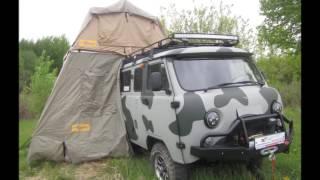 видео Багажник на автомобиль для рыбалки и охоты
