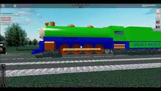 ROBLOX: rails unlimited playing with coasterteam for the first time!!!!!!!!!!