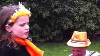 Amira Willighagen - First Ever Public Performance - 30/4/2011 Queensday - Then only 7 years old