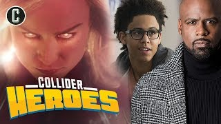 Captain Marvel Trailer Reaction; The Runaways' Ryan Sands and Rhenzy Feliz Interview - Heroes
