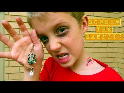 Corbin Turns Into A Bandit! Power Of The Beetle Necklace Revealed!
