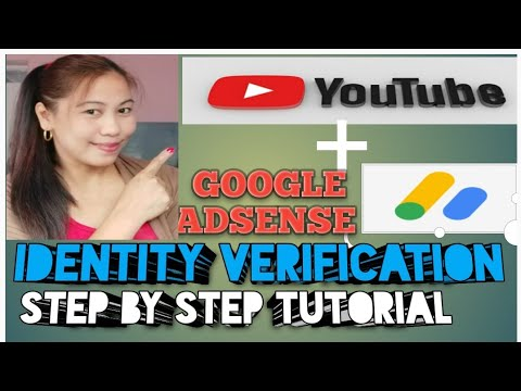 HOW TO VERIFY  YOUR IDENTITY ON YOUR GOOGLE ADSENSE ACCOUNT/ IDENTITY VERIFICATION PROBLEM SOLVED!