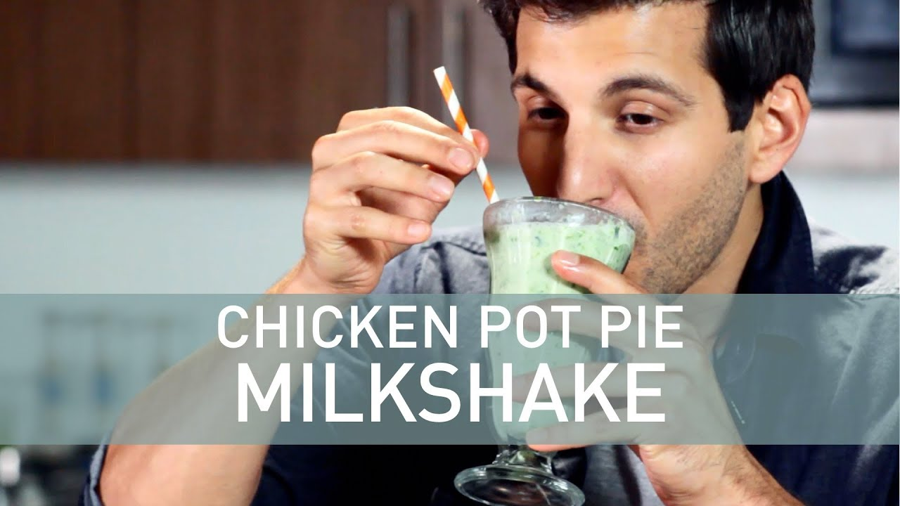 Chicken Pot Pie Milkshake - YouTube