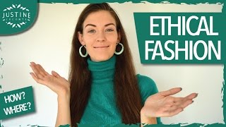 Sustainable fashion: how to shop sustainably | Justine Leconte