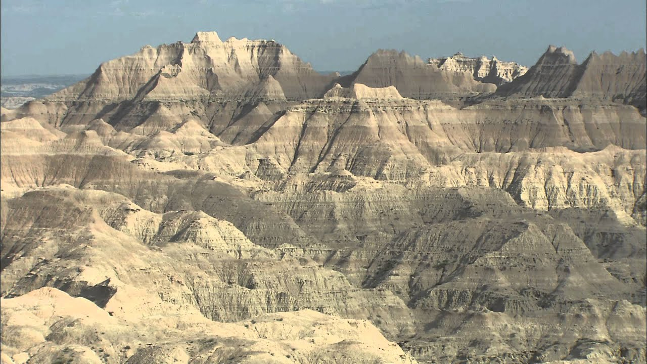 Landscapes of South Dakota: Badlands