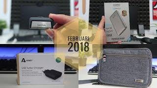 Aksesoris Gadget Menarik Rekomendasi Bulan Februari 2018