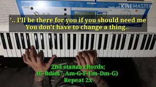 #NOTHINGS GONNA CHANGE MY LOVE FOR YOU || GEORGE BENSON || EASY with CHORDS and LYRICS