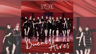 All rights administered by stone music entertainment ●artists: iz*one 아이즈원 (アイズワン) ●song: buenos aires ●album: 2nd japanese single 「buenos aires」 아이즈원...