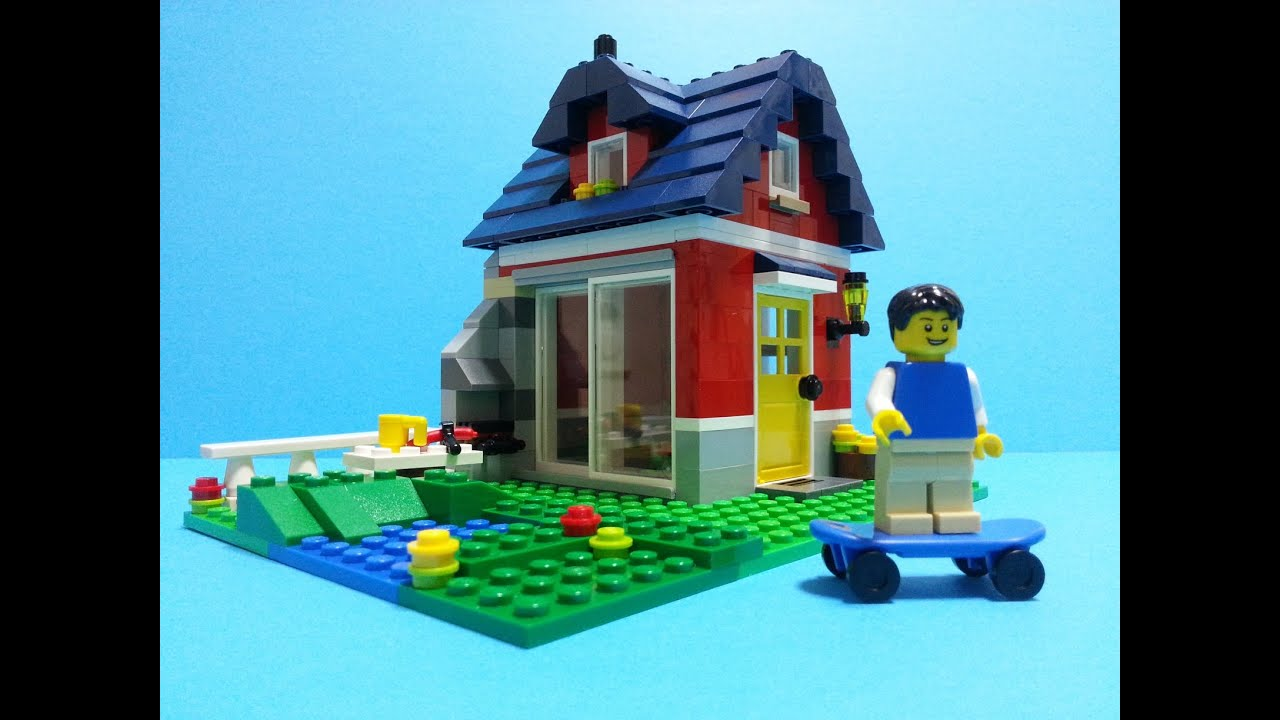 Lego Creator 31009 Small Cottage Build Review Youtube