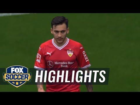Eintracht Frankfurt vs. VfB Stuttgart | 2017-18 Bundesliga Highlights
