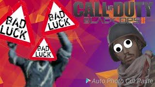 Call of Duty Black Ops 2 zombies \u0026 bad luck \u0026 funny moments \u0026 funtage