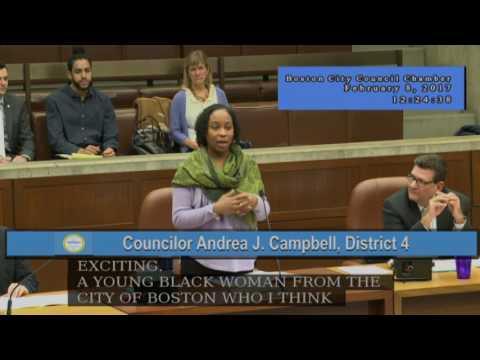 Boston City Council Meeting February 8, 2017