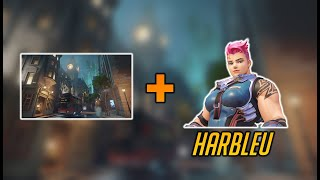 harbleu, king's row, and zarya. you know the drill - Overwatch