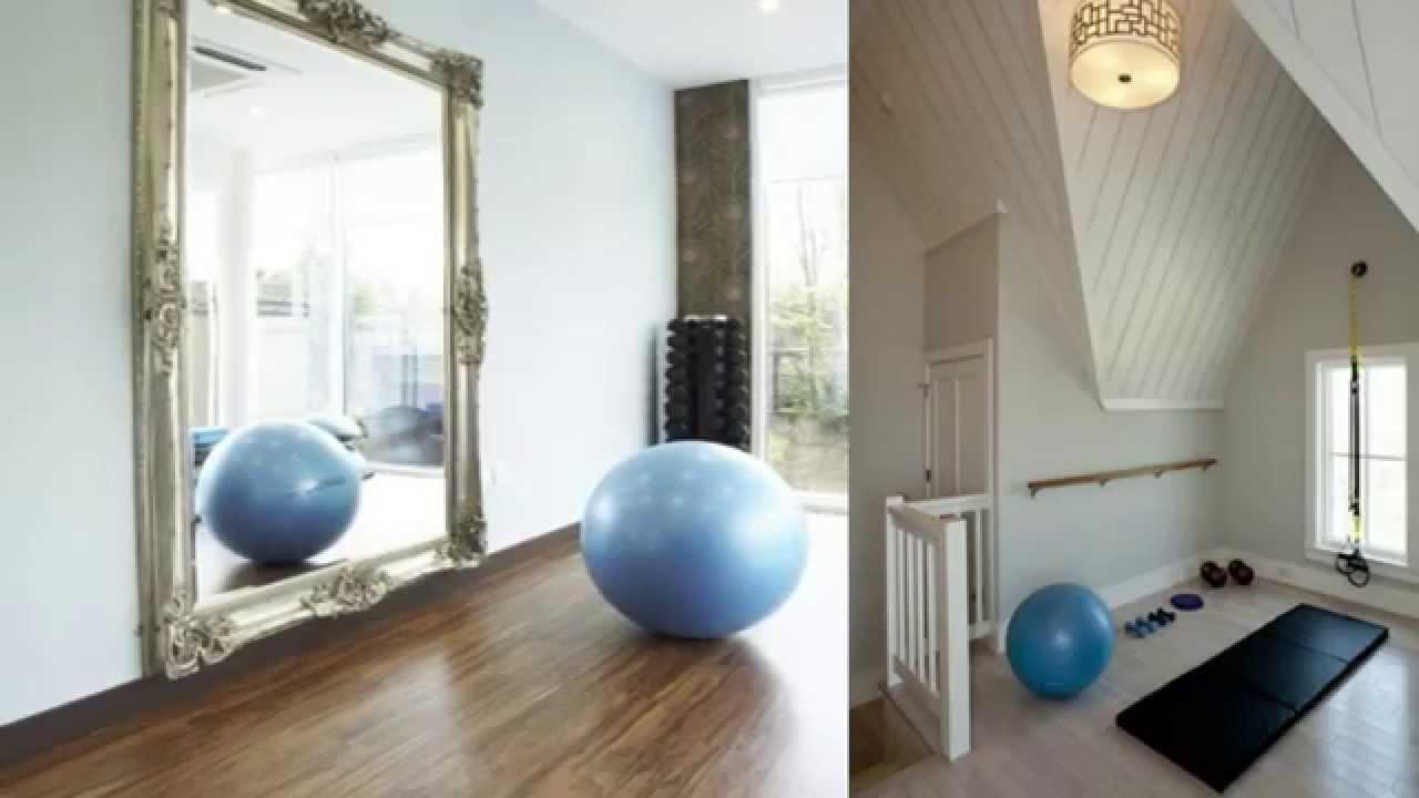 Ideas para tu gimnasio en casa crea tu espacio con for Ideas para amueblar tu casa