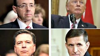 Trump Rosenstein conflicting views on why Comey was fired but critical to Mueller investigation