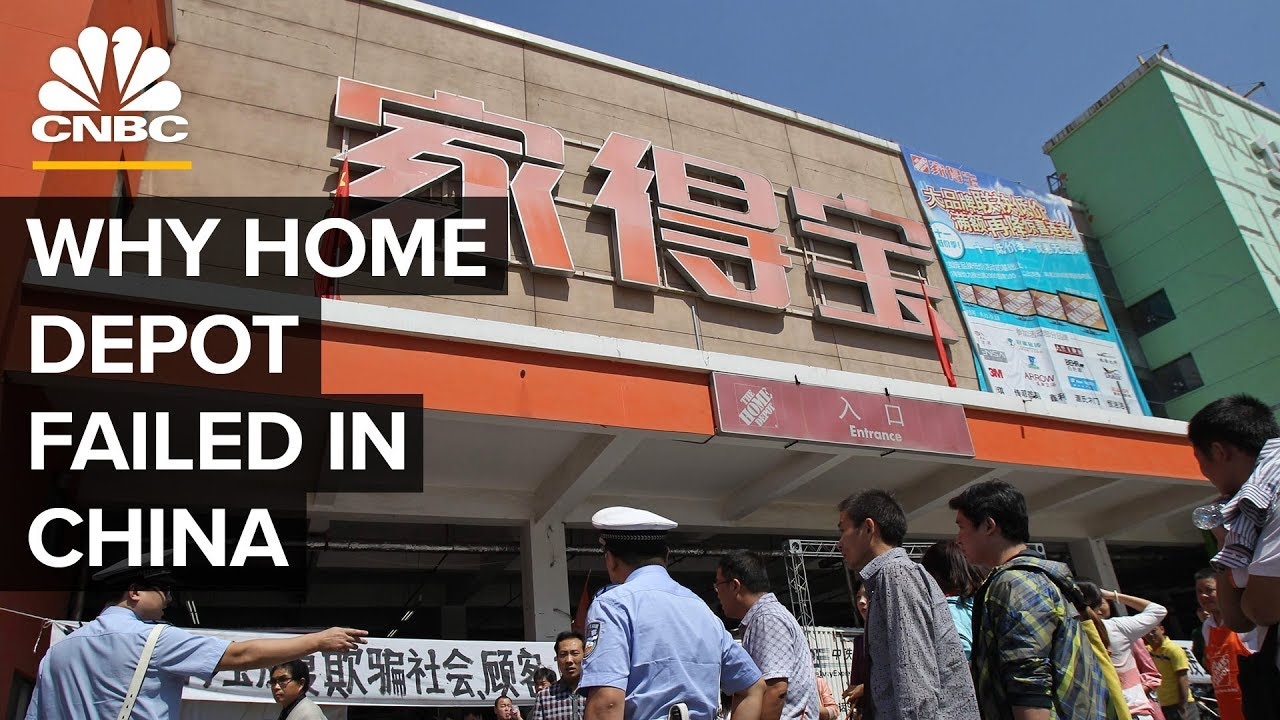Why Home Depot Failed In China Youtube