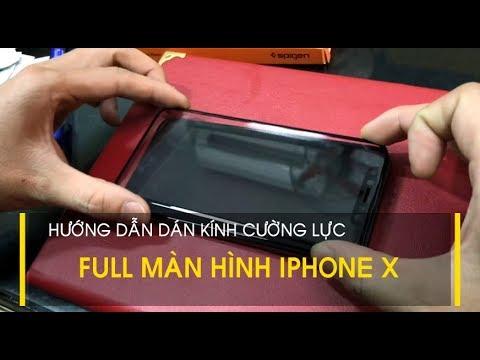 LÊ SANG | Hướng dẫn dán kính cường lực iPhone X / XS Nillkin 3D CP+ MAX Full màn hình đẹp nhất