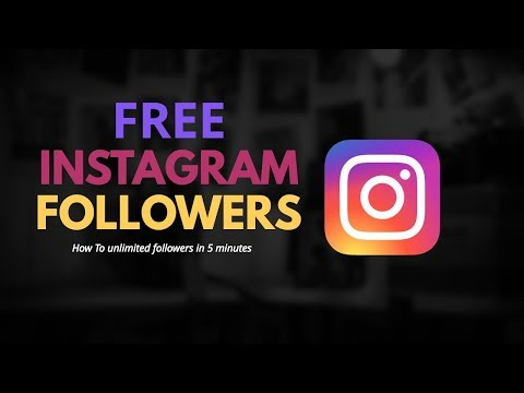 Free Instagram Followers - Instagram Followers Hack - Free Followers (NEW)
