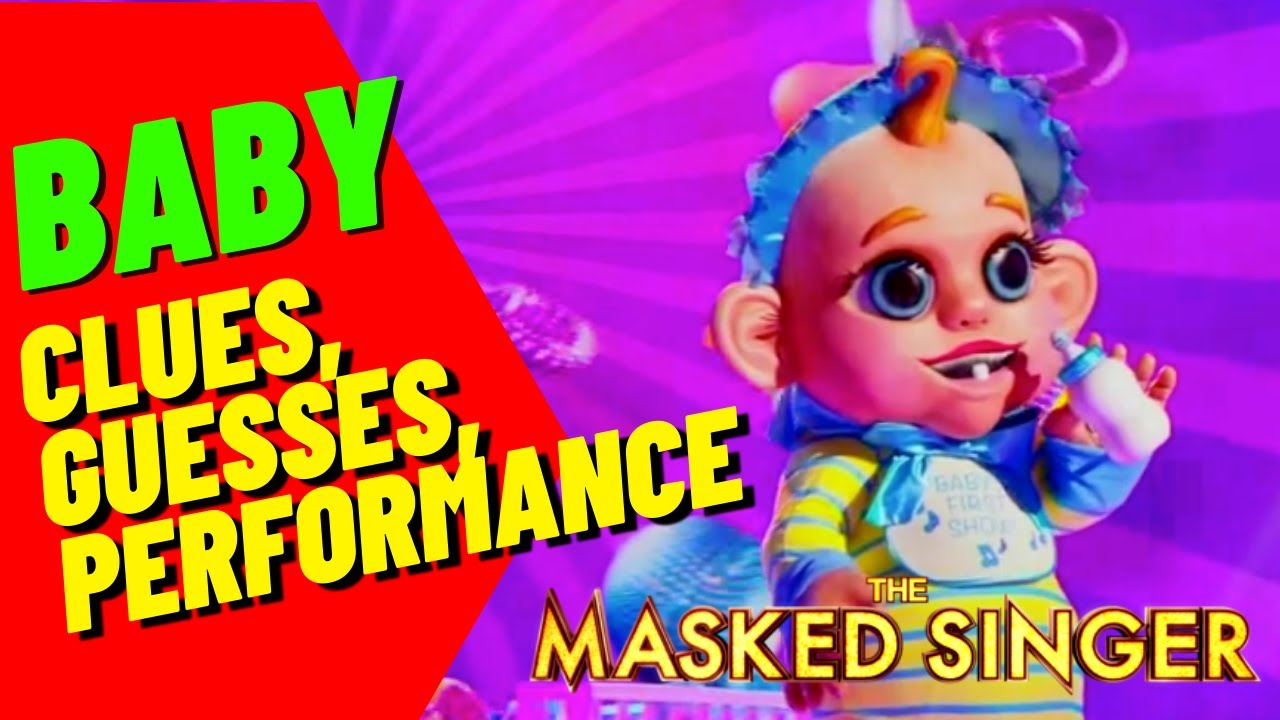 Download Baby Performance, Clues and Guesses - Masked Singer - Episode 2