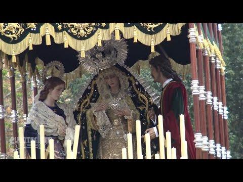La Hermandad del Sol por el Puente de San Bernardo. Sevilla 2016.
