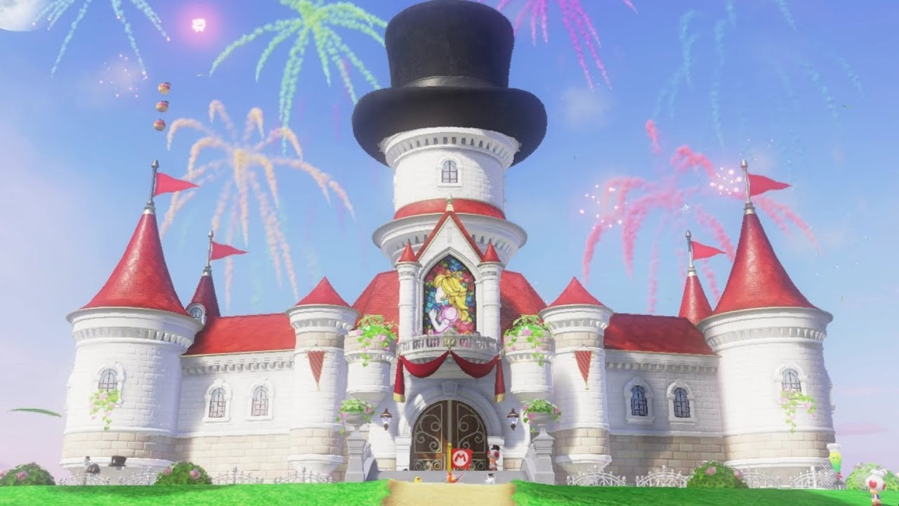 Super Mario Odyssey 999 Moons Secret Ending Youtube