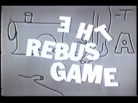 REBUS GAME very rare game  hosted by Jack Linkletter