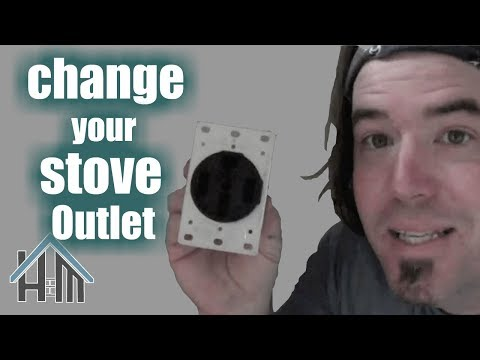 How to install replace stove outlet, 220. Easy! Home Mender.