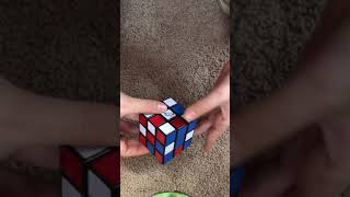 Awesome perspective rubik's cube trick