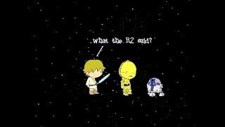 Star Wars animation in Scratch