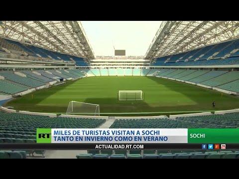 Conozca Sochi, el escenario de 4 partidos del Mundial Rusia 2018, entre ellos una semifinal
