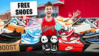 I Opened A Free Shoe Store