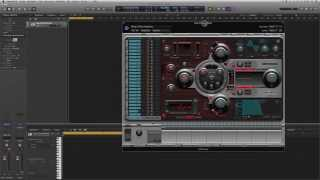 Logic Pro X Deutsch - Ultrabeat - Grundlagen I - Logic X Tutorial 37