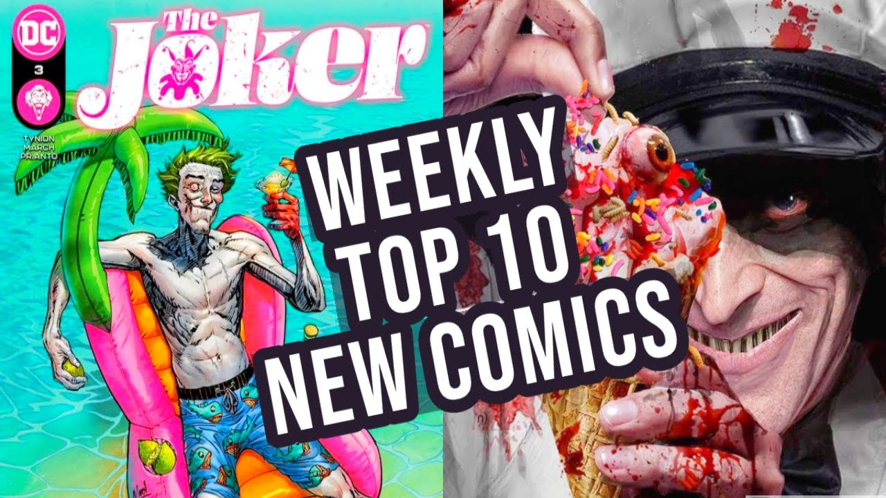 TOP 10 NEW KEY COMICS TO BUY FOR MAY 12TH 2021 - NEW COMIC BOOKS REVIEWS THIS WEEK - MARVEL & DC