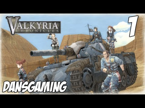 Valkyria Chronicles Walkthrough - Part 1 - Let's Play with Dan - HD Gameplay - PS3 RPG