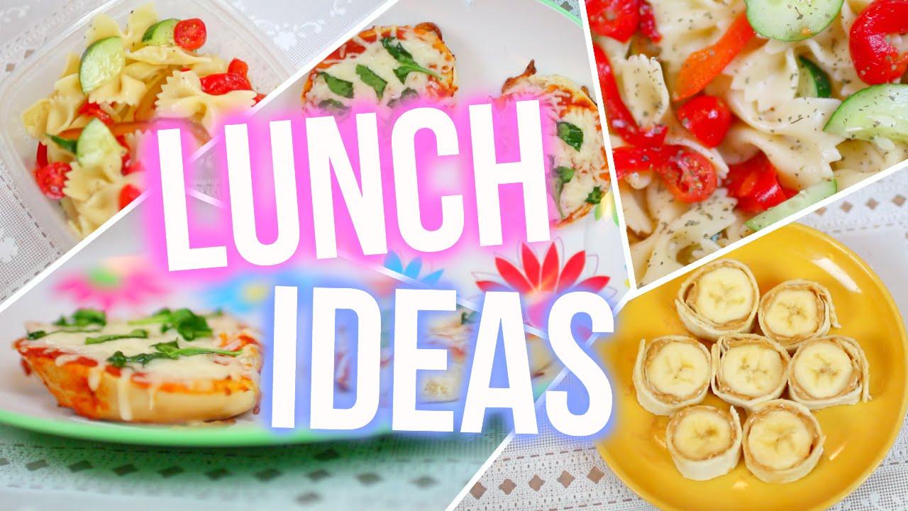 School lunch ideas quick easy delicious youtube for Delicious school lunch ideas