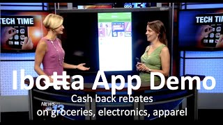 ibotta App:  Cash back coupon app for everyday purchases without clipping