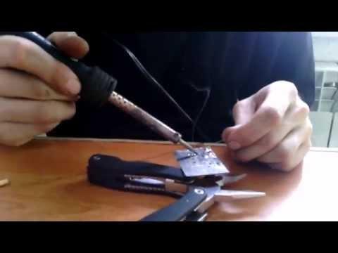 Простая схема тиристор вместо реле