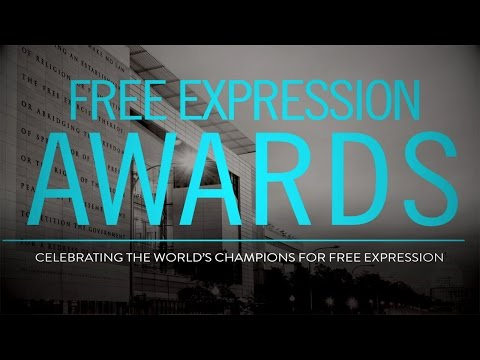 2016 Free Expression Awards