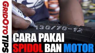 Cara Pakai Spidol Ban Motor | How To | GridOto Tips