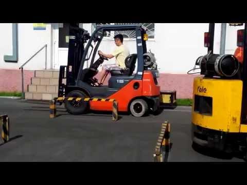 Обучающий курс практике вождения на погрузчике