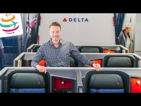 Delta ONE Business Class A350-900 | GlobalTraveler.TV